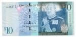 TONGA - 10 PA'ANGA - ANO DE 2008 - CATALOGO PICK: P-40 - VALOR ESTIMATIVO R$ 100,00 - CONSERVAÇÃO: FE = FLOR DE ESTAMPA