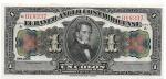 COSTA RICA - 1 COLON - ANO DE 1917 - VALOR ESTIMATIVO R$ 200,00 - CONSERVAÇÃO: FE = FLOR DE ESTAMPA