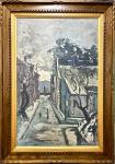 Tadashi KAMINAGAI (1899-1982) - óleo s/ madeira, medindo: 64 cm x 1,00 m e 91 cm x 1,27 m