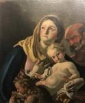 Francesco de Mura - Atribuído. Madona. Pintura europeia. Óleo sobre tela. 76 x 63 cm.