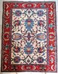 Belíssimo Tapete Kashimir persa em seda , em excelente estado. Med. 217 x 170 cm.