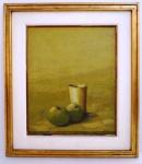 """DOMENICO LAZZARINI  """"Natureza Morta""""  óleo sobre tela . assinado e datado no CID 71 Domenico Lazzarini (Viareggio Itália 1920 - Rio de Janeiro RJ 1987).  66 X 57/ 46 cm X  37 cm. Na década de 1940, estuda com Ottone Rosai (1895-1957) e Emilio Vedova (1919-2006), em Lucca e Florença, Itália. Apresenta trabalhos em inúmeras mostras desse país. Transfere-se para o Brasil em 1950 e torna-se professor de pintura da Escola de Belas Artes de Araraquara, São Paulo. Em 1954, é um dos fundadores da Escola de Belas Artes de Ribeirão Preto. Dois anos depois, recebe prêmio aquisição na mostra Prêmio Leirner de Arte Contemporânea, em São Paulo. Muda-se para o Rio de Janeiro onde, em 1961, leciona técnica de pintura no Museu de Arte Moderna do Rio de Janeiro (MAM/RJ), que o agracia ainda com o prêmio Formiplac. No Salão Nacional de Arte Moderna (SNAM), recebe isenção do júri em 1959 e prêmio aquisição em 1962. No mesmo ano, ganha medalha de prata no 11º Salão Paulista de Arte Moderna. Participa da Bienal Internacional de São Paulo em 1959 e 1961."""