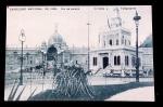 POSTAL-RJ-EXPOSIÇÃO NACIONAL DE 1908-S/USO-CORREIOS E TELÉGRAFOS-S/ USO