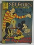 Revista Mickey e sua Caixa Eletrônica com 3 furos e pequena perda de papel na capa em Português Impresso na Argentina