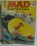 Revista em Quadrinhos MAD Especial número 1 Editora Record com contra capa colada com durex