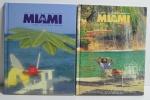 2 Revistas Capa Dura Greater Miami & the Beaches: Visitors Guide 1996 e 1997, Greater Miami Convention & Visitors Bureau, 144 pp. e 152 pp.