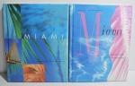 2 Revistas Capa Dura Guest Informant Miami, Sheraton Biscayne Bay Hotel, 1996 e 1997, 271 pp. e 255 pp.