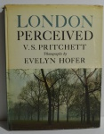 London Perceived, V. S. Pritchett, photographs by Evelyn Hofer, ano 1962, 115 pp.