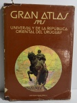 Gran Atlas spes Universal y de la Republica Oriental del Uruguai, ano 1979, 320 pp., com dedicatória com caneta em seu interior