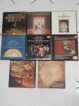LPs - 7 boxes de vinis de música clássica. Integridade dos discos desconhecida.