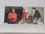 LP (3) - Três álbuns de Al Jarreau, discos sem garantia de integridade.