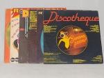 LP (8) - Oito vinis diversos Dance Music. Alguns desgastes, 2 sem capa e sem garantias.