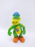 Danoninho - Boneco Promocional sendo Dino do Danoninho de vinil, medindo 14 cm de altura, conservado