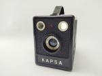Câmera Fotográfica Kapsa - Ind. Brasileira, lente Vascromat 110 mm, Não Testado, no estado