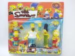 Simpsons - Coleção de Bonecos do Simpsons em seu blister lacrado, maior medindo 10 cm de altura, conforme fotos