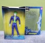 Bandeirante - Boneco Coringa medindo  40 cm de altura em sua caixa, manufatura Bandeirante, caixa com pequenos desgastes.