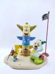 Action Figure Krusty e Bart Simpson serie 1 - Manufatura MC Farlane, medindo  de ponta a ponta 18x15 cm - The Simpsons, item muito bem conservado. conforme fotos
