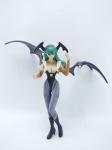 CAPCOM - Boneca Morrigan Aensland do Darkstalkers - Capcom, medindo 15 cm de altura, conforme fotos