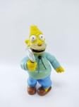 FOX - Boneco Vovô Simpsons manufatura Playmates Toys do ano de 2000 - Fox, Medindo 12 cm de altura