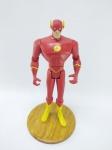 Mattel - Boneco The Flash coleção Liga da Justiça - DC, Manufatura Mattel, medindo aprox. 12 cm de altura, sua base não é original do boneco