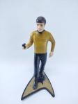 Star Trek - Boneco Pavel Chekov do Star Trek do ano de 1991, medindo 9,5 cm de altura - Licenciada Hamilton - Jornada nas Estrelas