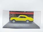 Miniatura Chevrolet Opala SS - 1976 em seu acrílico, coleção carros Inesquecíveis do Brasil escala 1/43
