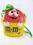 M&M - Lancheira do Chocolate M&M´s medindo 21x18 cm, conservado