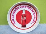 Coca Cola - Bandeja Promocional da Coca cola sendo de Lata, conservada, medindo 33x33 cm, conforme fotos