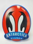 Placa Promocional da Cerveja Antarctica -Pilsen  feita em plástico, medindo 30x23 cm, conforme fotos