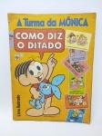 Álbum de Figurinhas sendo TURMA DA MÔNICA - COMO DIZ O DITADO, Editora Abril do ano de 1981, Completo, capa contem leves desgastes, conforme demonstra fotos