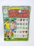 Álbum de Figurinhas do Campeonato Brasileiro de 1989 - Editora Abril - PLACAR, Faltando apenas 26 Figurinhas, álbum com desgastes do tempo, conforme demonstra fotos