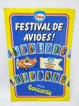 Nestle - Álbum de Figurinhas sendo do Festival de Aviões - Promocional Yopa (Sorvetes da Nestle) do ano de 1982, Faltando apenas 12 Figurinhas, conforme demonstra fotos