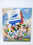 Álbum de Figurinhas sendo Copa do Mundo de 1998 (França) -  Faltando 129 Figurinhas, conservado, conforme fotos