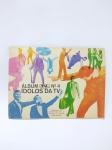 Álbum de Figurinhas sendo Ídolos da TV Nº4 - Intervalo - Completo, conservado