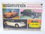 Álbum de Figurinhas sendo Automóveis Modernos do ano de 1967. Editorial Bruguera, Faltando apenas 1 Figurinha, Capa com desgastes, já foi colada com fita adesiva, conforme fotos