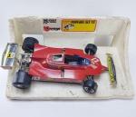Burago - Miniatura Ferrari modelo 312 T5 - Manufatura Burago, escala /14, Die cast, Metal Model - Made in Italy, Obs: Faltando 1 Retrovisor, conforme fotos, Obs: seu escapamento está com avaria