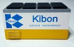 KIBON FREEZER RETRÔ, CONFECCIONADO EM MADEIRA COM PINTURA EM ESMALTE.  MEDINDO APROX 12X17X12