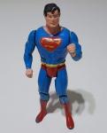 BONECO SUPERMAN SUPERPOWERS ESTRELA, ANOS 80.  ARTICULADO COM APROXIMADAMENTE 10 CM. DE ALTURA