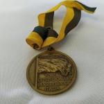MILITARIA (R035) - Medalha da FEB - Força Expedicionária Brasileira na Itália - Segunda Guerra Mundial - Pela Liberdade do Mundo, com fita.