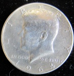 USA - HALF DOLLAR - 1964