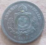 BRASIL - IMPÉRIO - 100 RÉIS - 1879