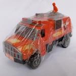 Brinquedo antigo - Lindo caminhão de bombeiro fabricado em plástico injetado pela Uirapuru. Parcialmente lacrado. Mede aprox. 22cm de comprimento. As rodas giram livremente.