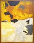 Yolanda Mohalyi (1909-1978). ABSTRATO. Óleo sobre tela. 80 x 65 cm (mi); 85 x 70 cm (me). Assinado (cie).