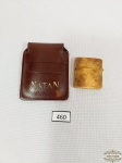 Antigo  isqueiro de bolso dourado  Japones   Natan .