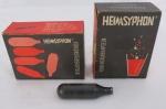 Duas (02) caixas ampola de gáz para garrafa sifão cada uma com dez ampolas, marcada Heimsyphon Made In Germany.