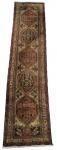 TAPETE - ARDEBIL IRANIANO - Linda passadeira Persa, feita à mão em lã sobre lã,. Med.: 297 x 075 cm= 2.23 m2.