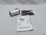 Filmadora Digital Sony Dcr-sr68 Zoom Óptico 60x Hd 80gb, funcionando, não acompanha o carregador de bateria.