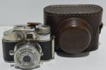 Mini camara fotográfica japonesa comcase original mighty perfeito estado de conservação