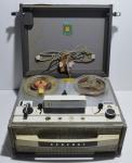 Aparelho antigo Eletrimatic Remote Control General para gravação de áudio em fita