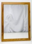 ESPELHO - espelho com moldura em pinho de riga. Med. 44 x 33 cm.
